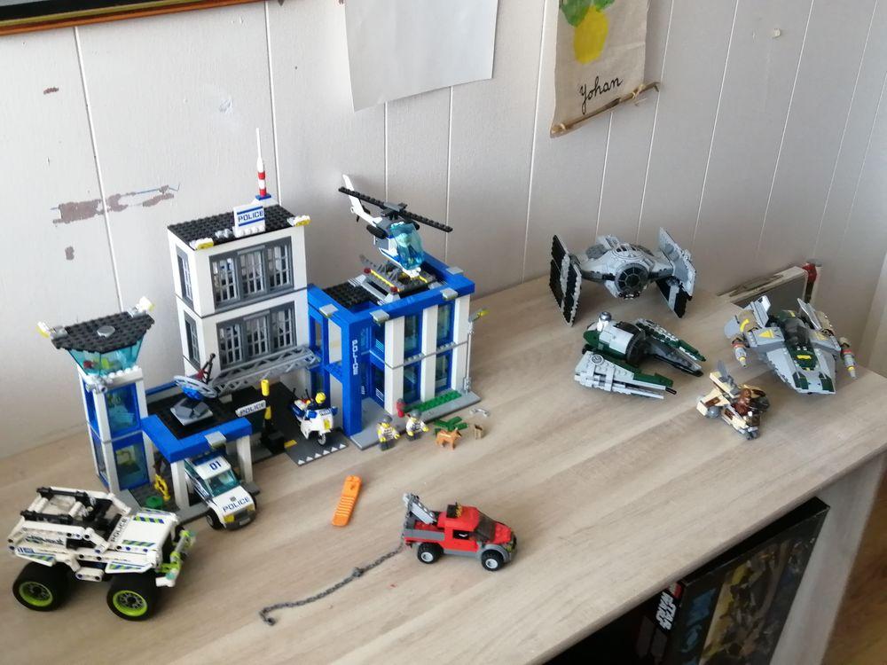 LEGO OCCASION CITY & STAR WARS 100 Presles (95)