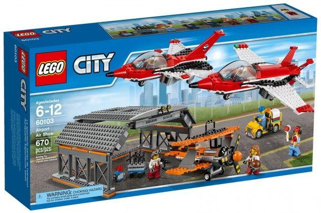 Lego Le spectacle aérien 60103 65 Fontenay-sous-Bois (94)
