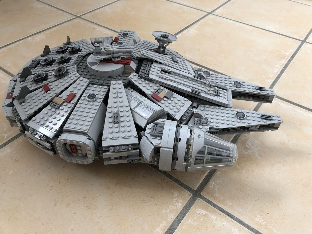 Lego star wars faucon millenium 7965 150 Le Porge (33)