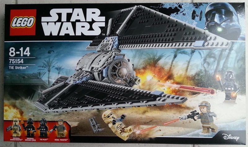 Lego Star Wars 75154 TIE Striker Jeux / jouets