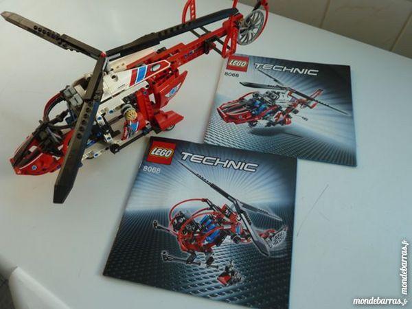 Lego technic N°8068 L' Hélicoptère de Secours 50 Marignane (13)