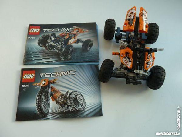 Lego technic N°9392 le quad orange 30 Marignane (13)