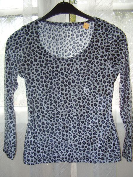 Top léopard gris 22 Châtenay-Malabry (92)