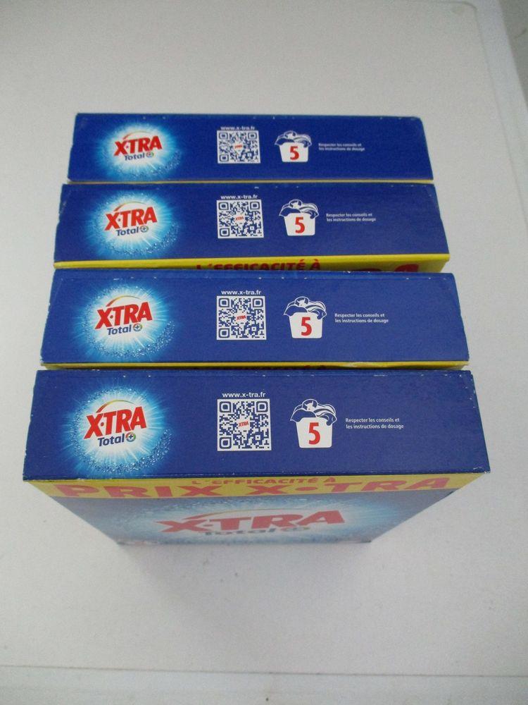 lessive XTRA 4 boites de 5 doses 2 Montreuil (93)