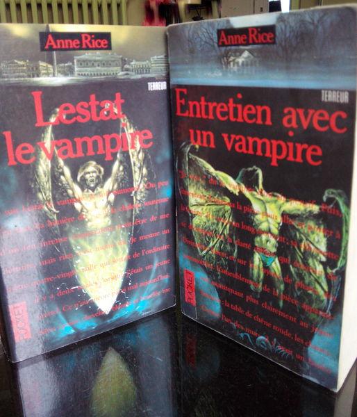 Lestat le vampire - Livres de poche 3 Poissy (78)
