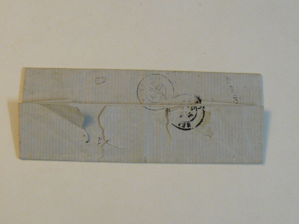 Lettre ancienne Buzancy n°571 4-03-1857