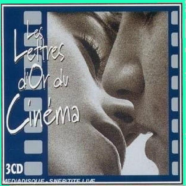 LES LETTRES D'OR DU CINÉMA coffret de 3 CD Musique classique CD et vinyles