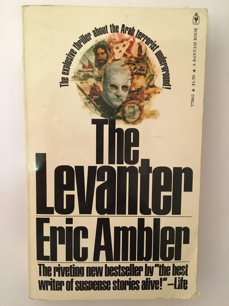 The Levanter en anglais de Eric Ambler ? Ed. rare de 1973 20 Paris 16 (75)