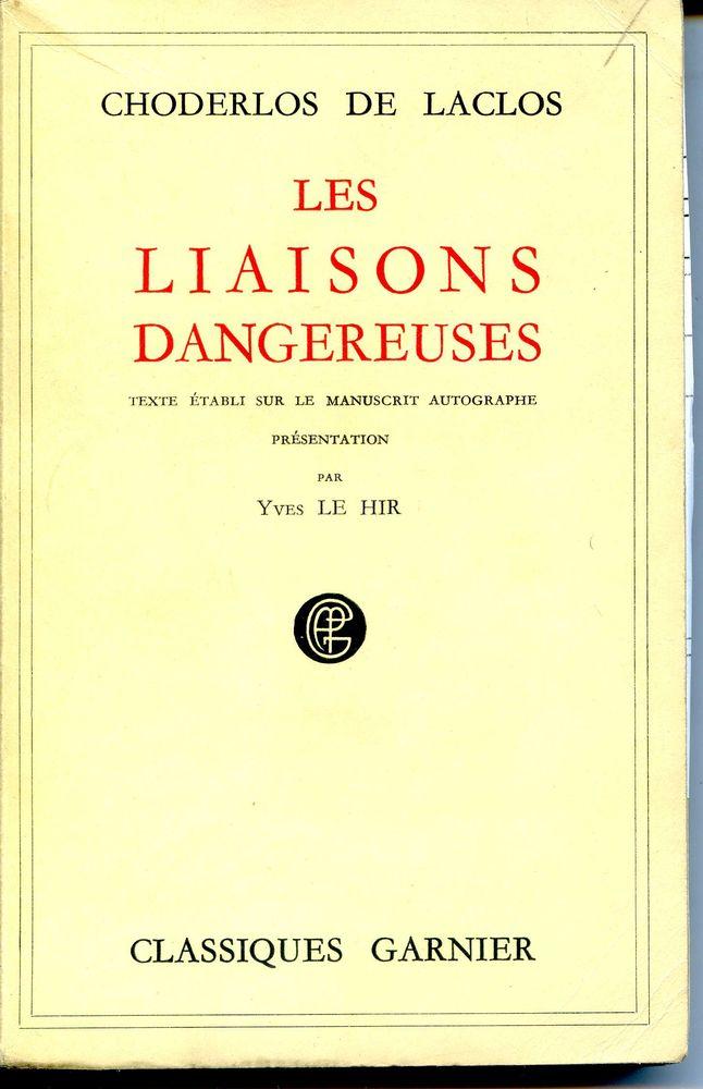 Les liaisons dangereuses - Choderlos de Laclos, 5 Rennes (35)