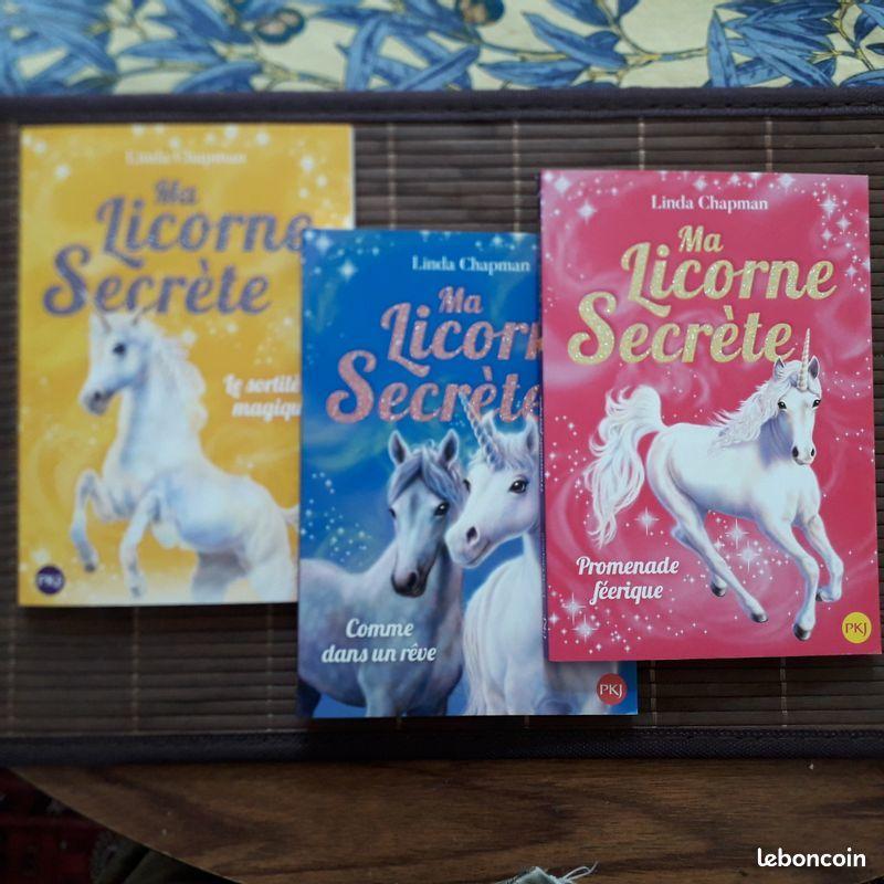 Ma licorne secrète, livres enfants 7 ans, tomes 1 2 3 neufs 8 Paris 17 (75)