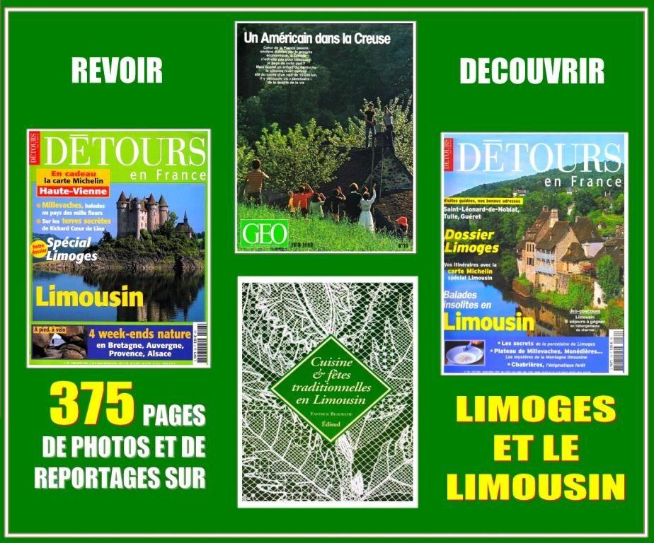 LIMOGES ET LE LIMOUSIN - balades et gastronomie 18 Lille (59)