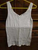 lingerie : 2 débardeurs et un T-shirt blanc dentelle / haut 0 Mérignies (59)