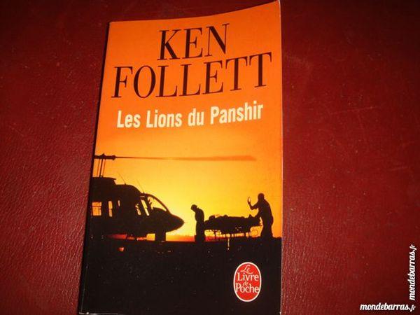 les lions du panshir ((ken follett))l de poche 3 Argenteuil (95)