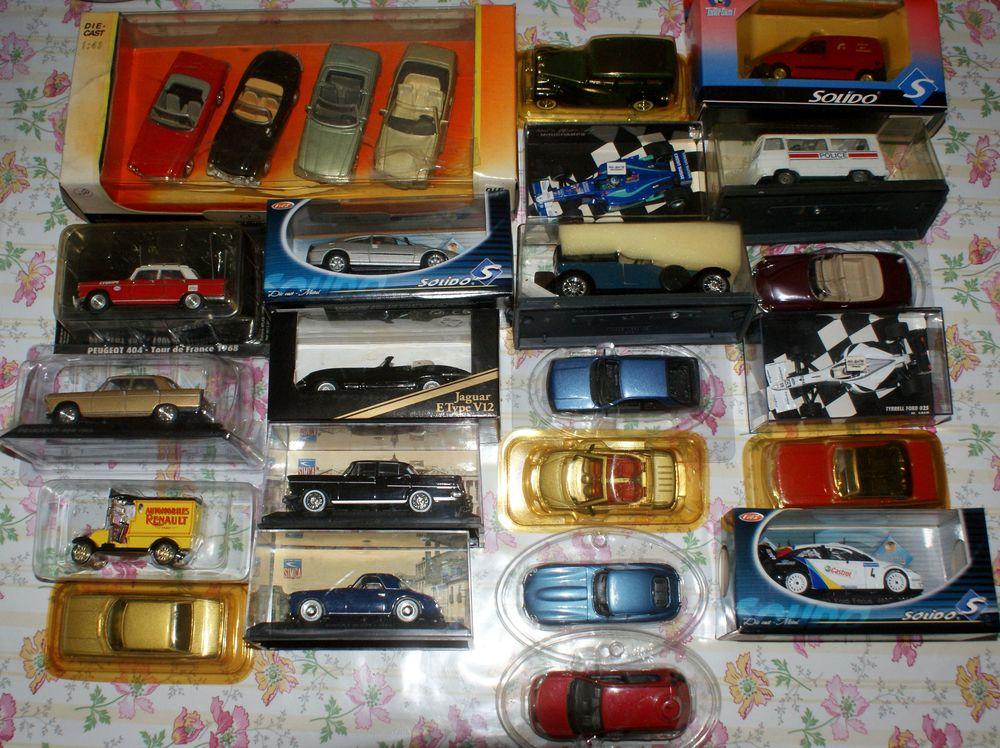 liquidation lots voitures miniatures 100 Montcy-Notre-Dame (08)