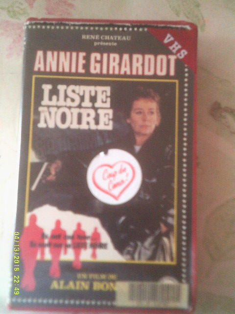 LISTE NOIRE avec annie Girardot DVD et blu-ray