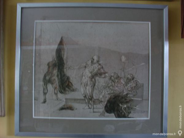 Litho Claude WEISBUCH Le chef d'oeuvre inconnu 900 Béziers (34)