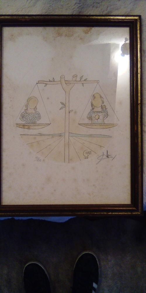 Lithographie Dali signé 1000 Nice (06)