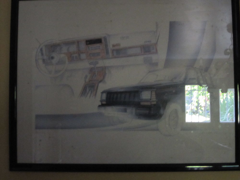 UNE LITHOGRAPHIE '' JEEP CHEROKEE '' 50 Argentat (19)