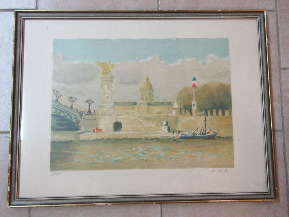 Lithographie de Paris 0 Grasse (06)