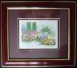 Lithographie Richard Nahmias avec certificat