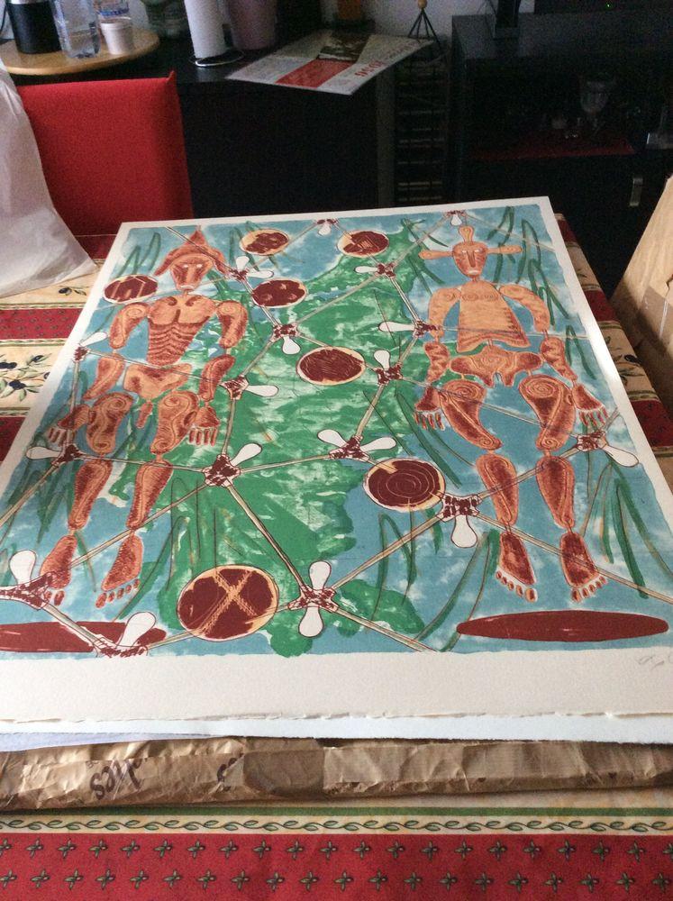 lithographie 120 Gennevilliers (92)