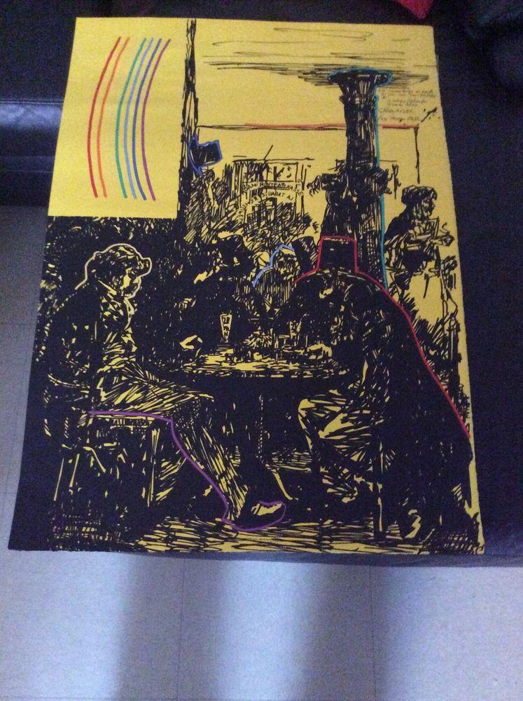 lithographie 150 Gennevilliers (92)