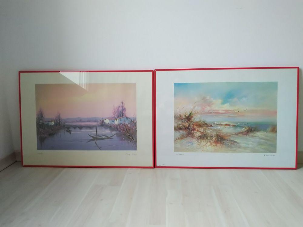 2  lithographies signés 0 La Roche-sur-Yon (85)
