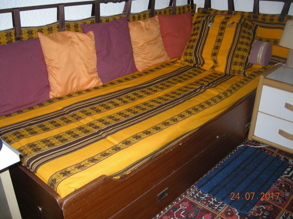 Lits gigogne bois couleur acajou 115 Sassenage (38)