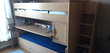 Lits superposés avec bureau et tiroir rang. GAUTIER Sagane Mobilier enfants