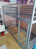 Lits superposés, Ikea (Svarta, 90x200 cm) 70 Paris 19 (75)