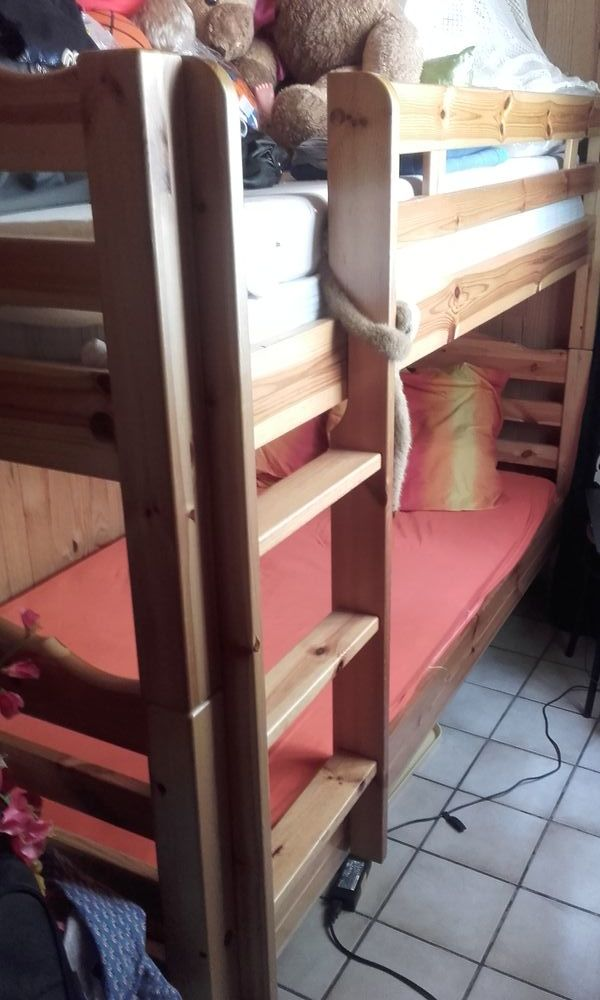lits superposés en pin  250 Nevers (58)