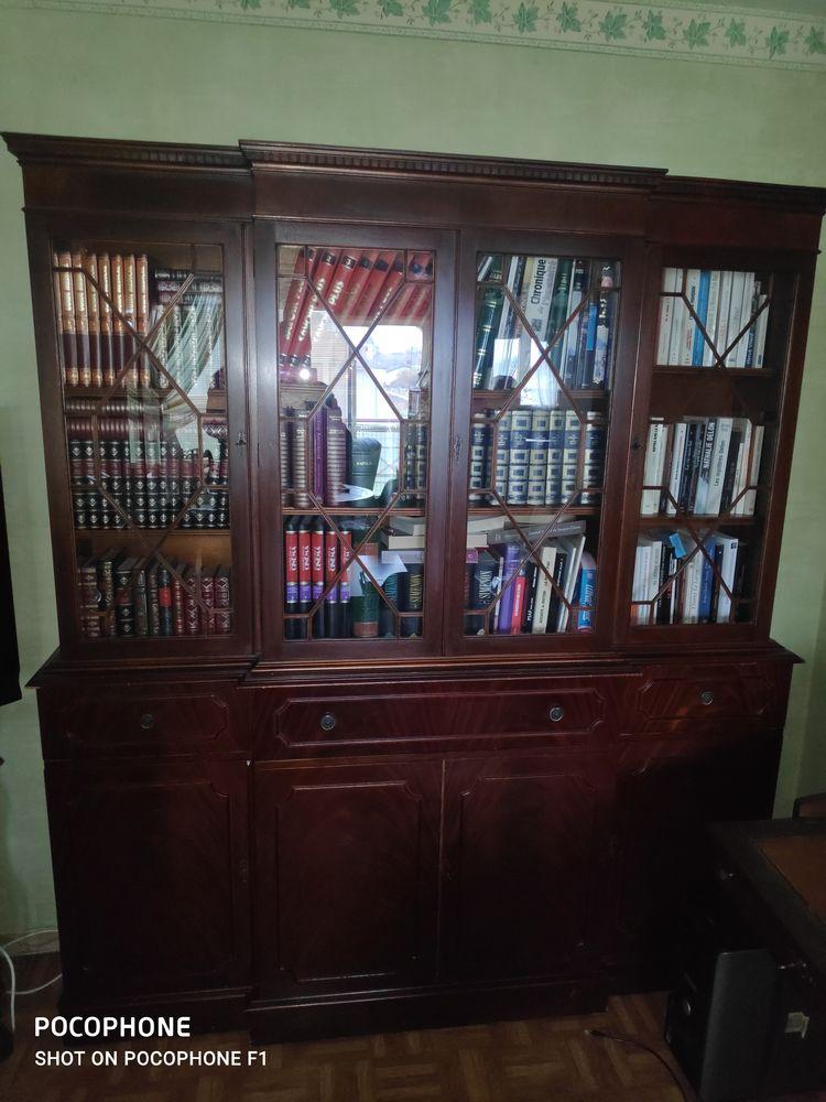 living bibliothèque style anglais 0 Douvaine (74)