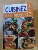 livre de 1000 recettes CUISINEZ A à Z d'émile Bertrand 10 Doussard (74)