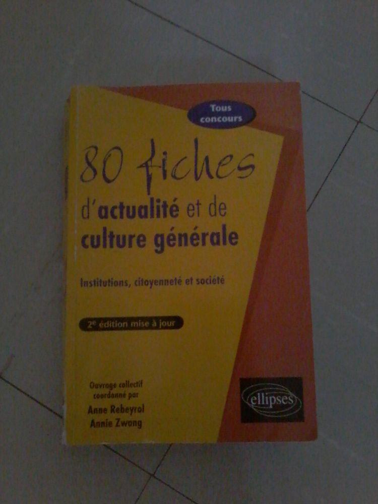 Livre actualité et culture général pour  tous concours  20 Tourcoing (59)
