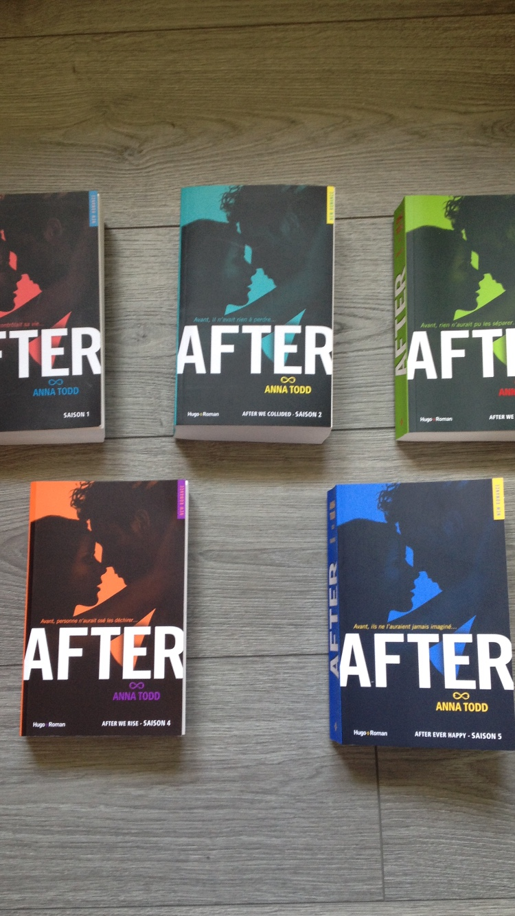 Livre After Tome 1 A 5