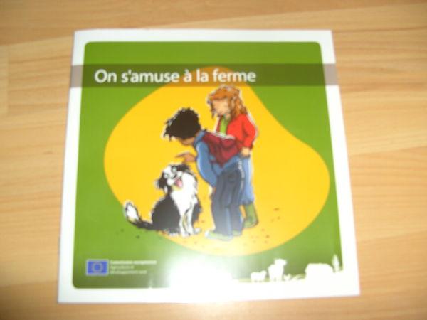 Livre  On s'amuse à la ferme  (Neuf) 1 Ardoix (07)