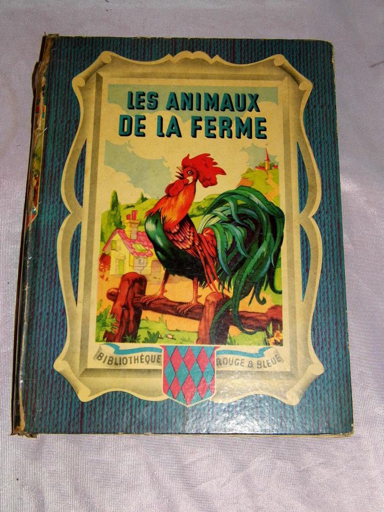 Livre Ancien Les Animaux A La Ferme 1949 1952