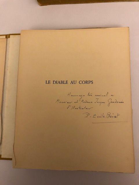 Livre ancien de collection : LE DIABLE AU CORPS N°25/1000 280 Les Pavillons-sous-Bois (93)