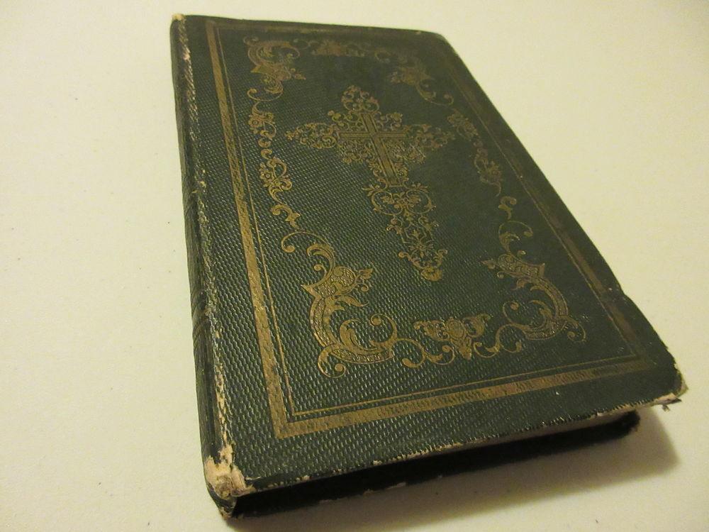 Livre Ancien Conduite Passer Saintement La Pentecote 1854