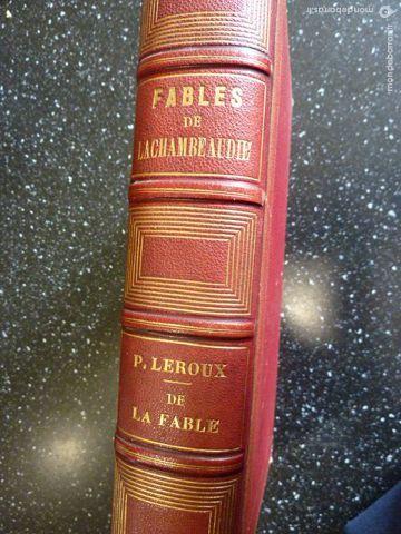 livre ancien Fables de P.LACHAMBEAUDIE 95 Agen (47)