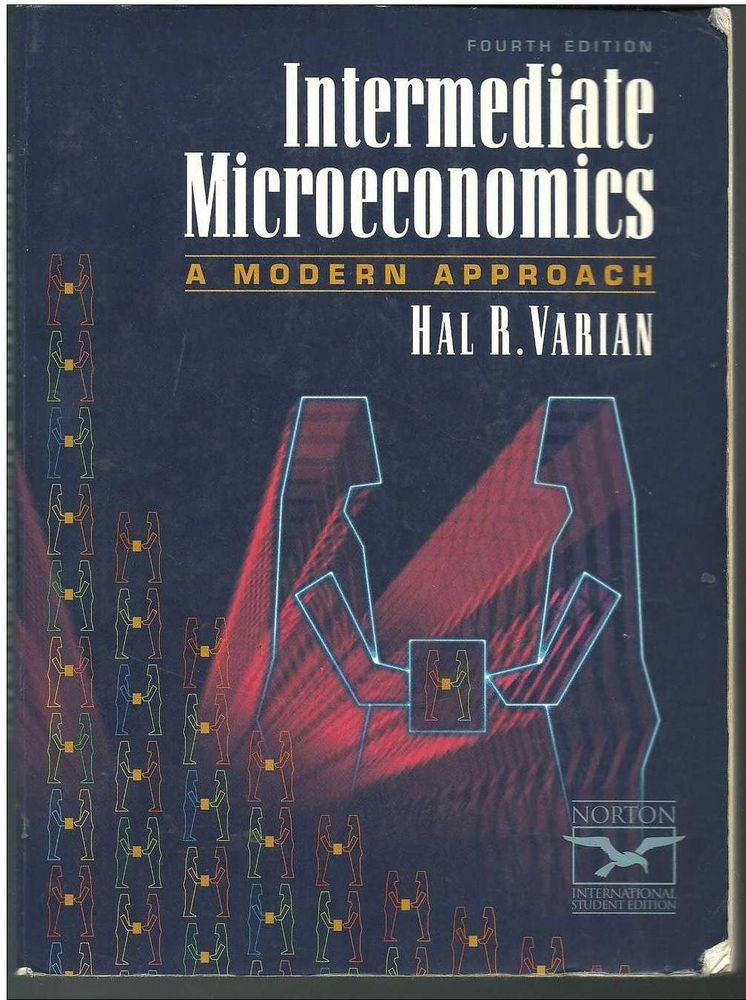 Livre anglais : Intermediate Microeconomics Modern Approach 12 Montauban (82)