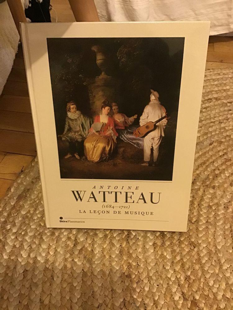 livre, Antoine Watteau, la leçon de musique Livres et BD