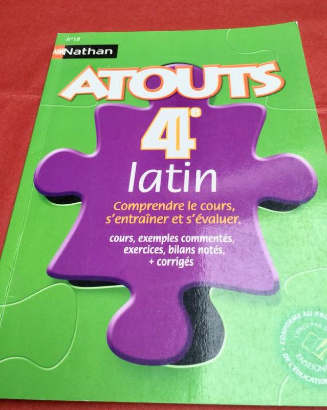 Livre ATOUTS 4ème LATIN 0 Marcq-en-Barœul (59)