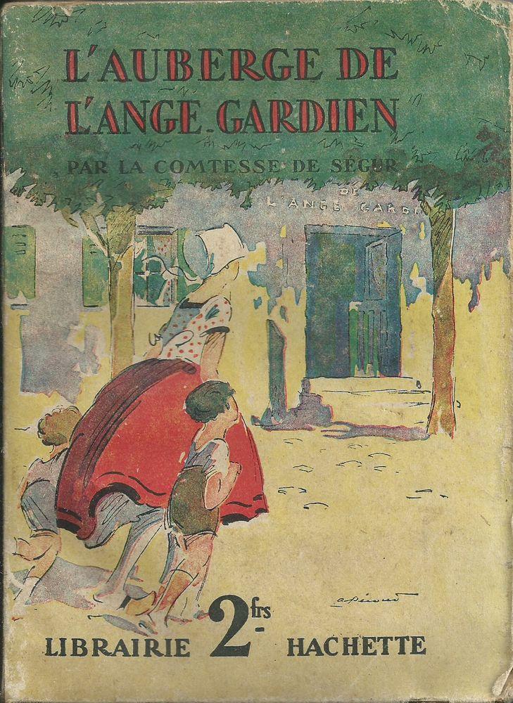 1 livre l'auberge de l'ange gardien , comtesse de ségur 1930 Livres et BD
