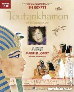 Livre audio   Toutankhamon et la larme d'or    10 Noyelles-sous-Lens (62)