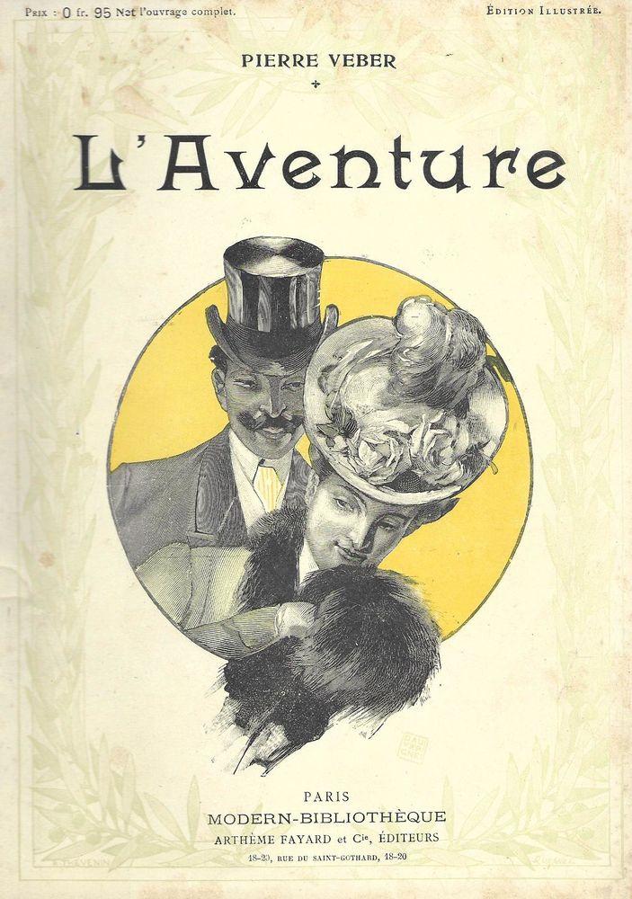 livre ,L 'Aventure de Pierre Veber 1897 18 Tours (37)