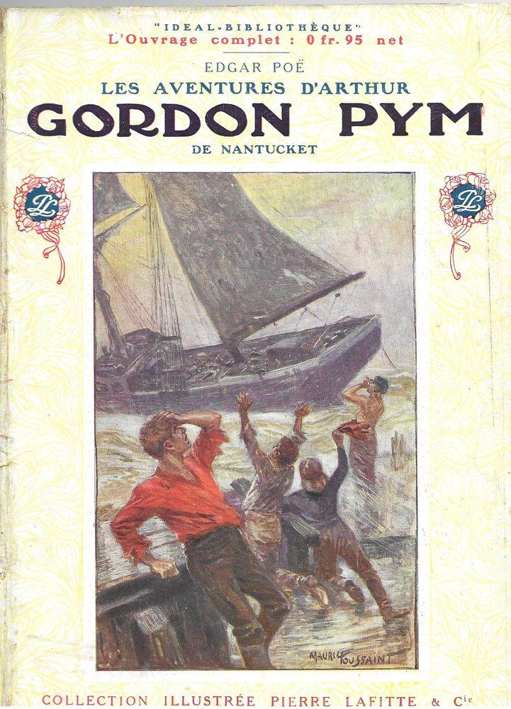 1 livre ,Les aventures d'Arhur Gordon Pym de Nantucket   22 Tours (37)