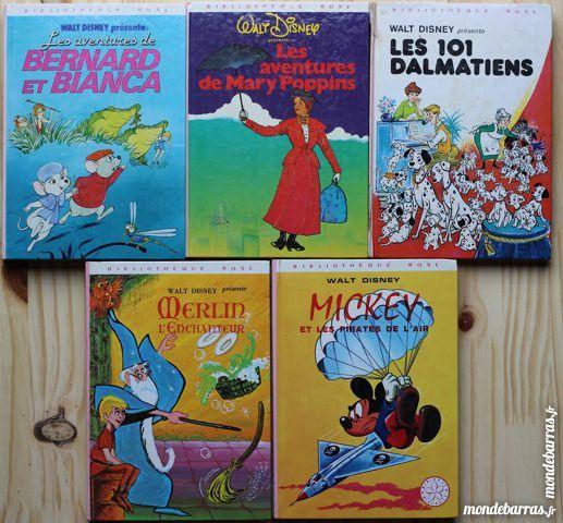 Livre bibliothèque rose walt disney  1 euro 1 Cramont (80)