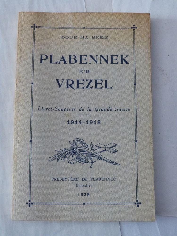 livre breton -  PLABENNEK E ' R VREZEL 12 Brest (29)