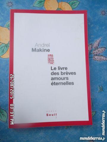 LE LIVRE DES BREVES AMOURS ETERNELLES*3E*KIKI60230 3 Chambly (60)